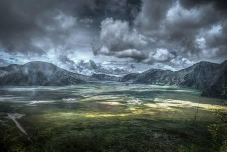 Mount Bromo Caldera