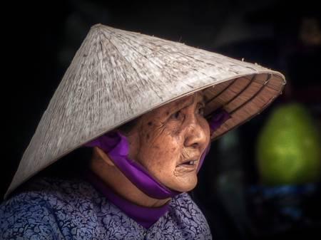 La vieille femme de Da Nang