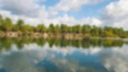 Reflection on Blue Lake