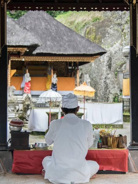 Prière aux dieux de Bali