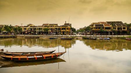 Rivière Thu Bon à Hoi An