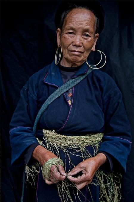 Femme Hmong nord Vietnam