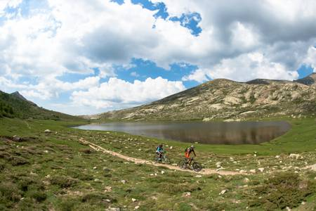 VTT au Lac Nino en Corse