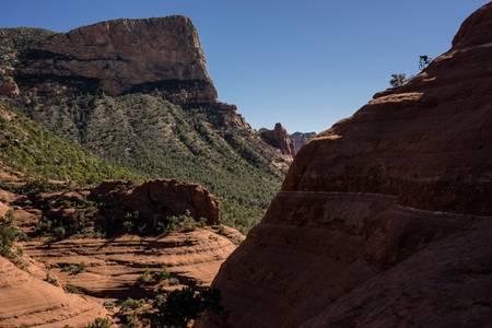 Mountain bike Cliff of White Line Sedona United States