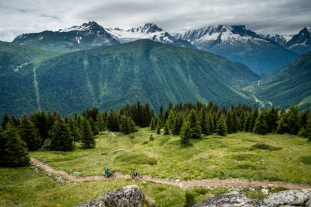 Mountain bike Valorcine Savoie