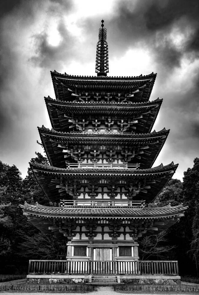 Daigo Ji Pagoda Kyoto Guillaume Jack O Berger Fine Art