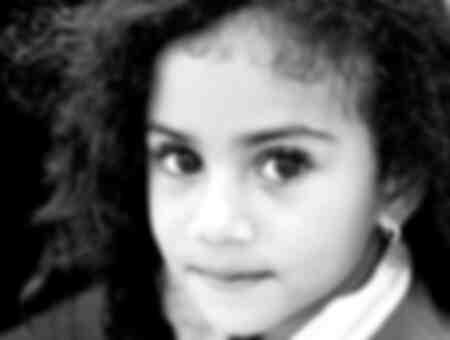 Dominican little girl