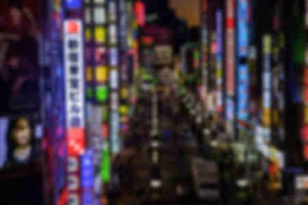 Kabuki-Cho Red District Tokyo