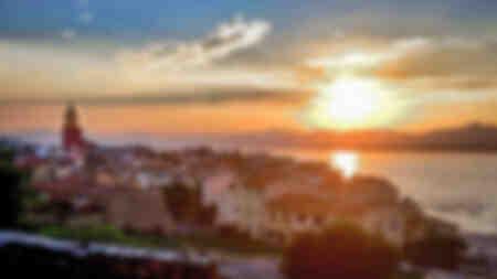 Saint-Tropez Sonnenuntergang