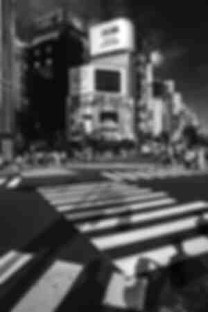 Tokyo Crossing road