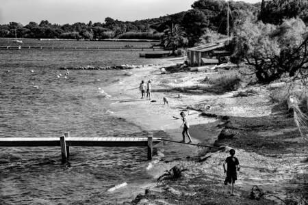 La baie des Canoubiers à Saint-Tropez