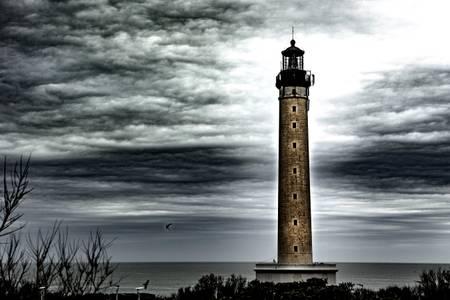 Der Leuchtturm von Biarritz