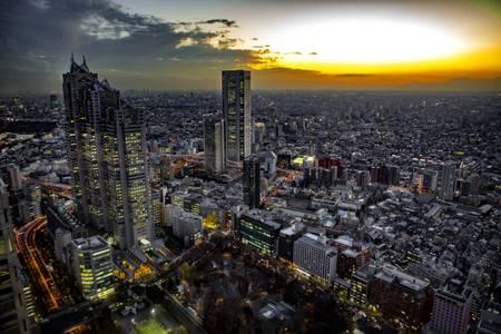 Megapolis Sunset