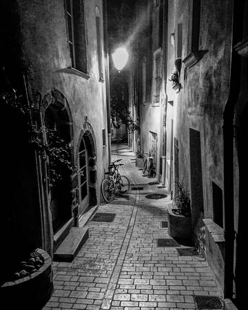 Night Street Saint-Tropez