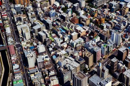 Tokio Hochansicht