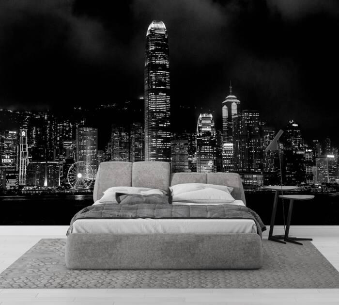 Black and White Hong Kong
