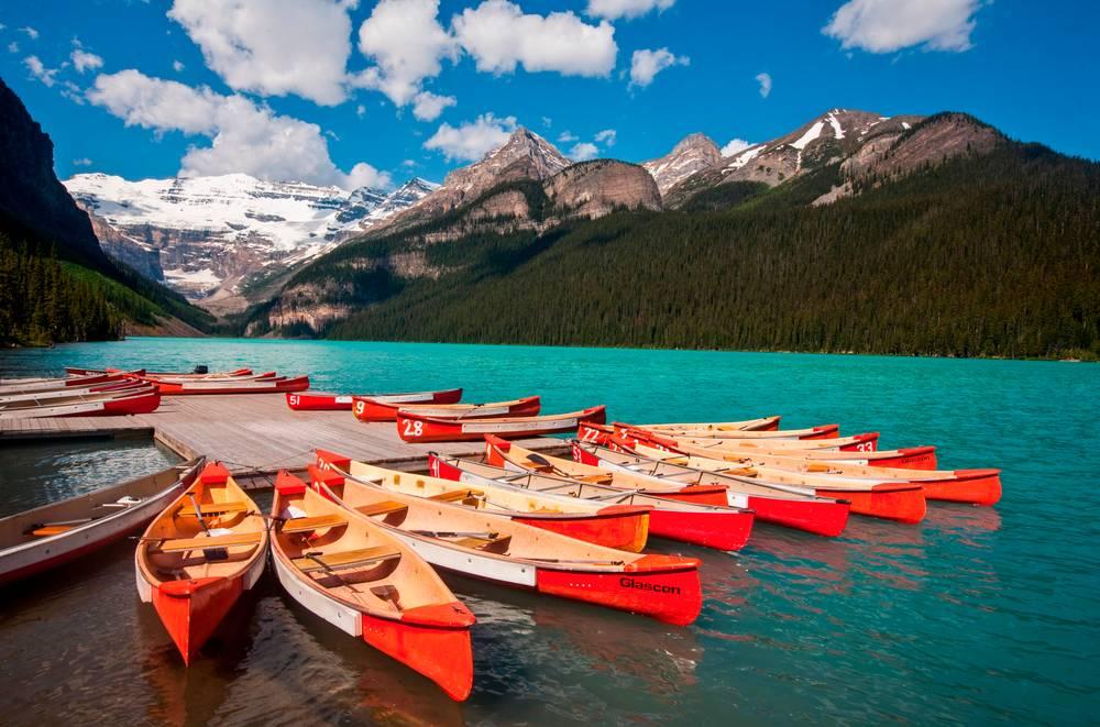 Les Kayaks Du Lac Louise Canada