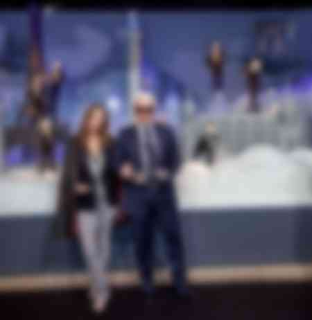 KARL LAGERFELD AND VANESSA PARADIS AND KARL DOLLS