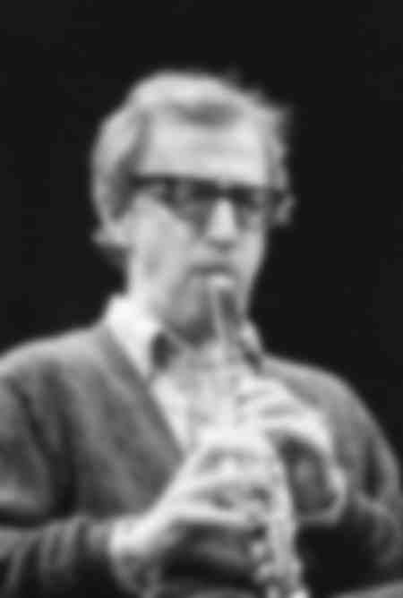 WOODY ALLEN AT THE CLARINET AT OLYMPIA