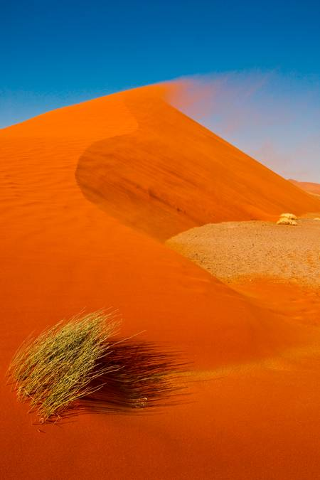 THE DUNE AND THE NAMIBIAN WIND