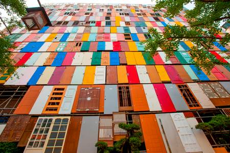 COLOR DOORS IN SEOUL