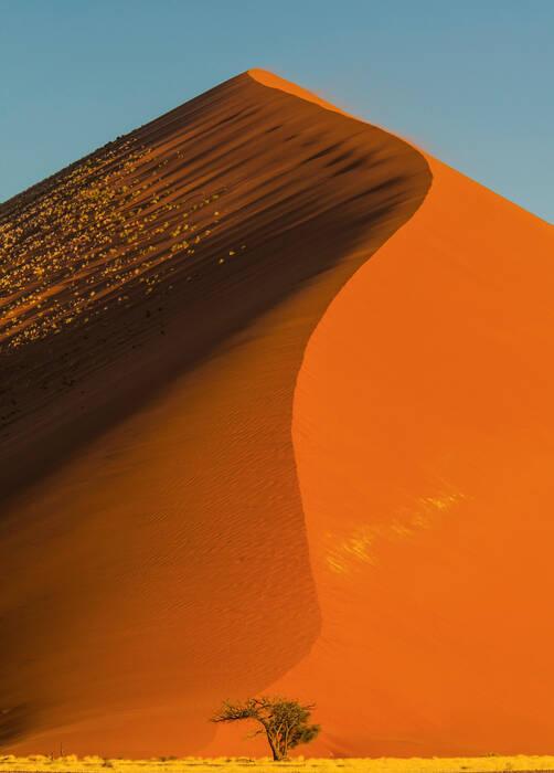 Dune De Sable Sossusvlei Namibie