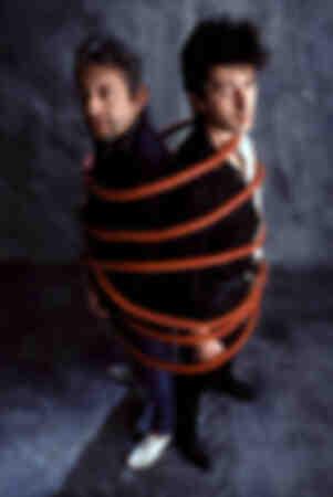 Alain Bashung och Serge Gainsbourg 1982