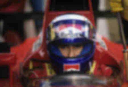 Alain Prost 1991 at Imola