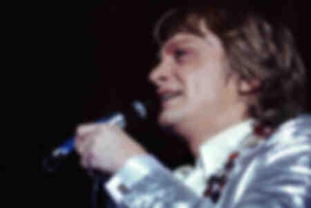 Claude François en concierto en 1974