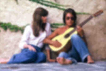 Jacques Dutronc et Françoise Hardy 1973