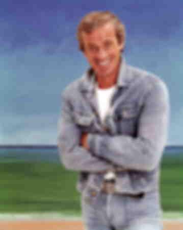 Jean-Paul Belmondo pose pour Match en 1977, à l'occasion de ses 20 ans de cinéma.