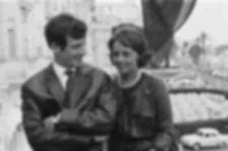 Jeanne Moreau and Jean Paul Belmondo