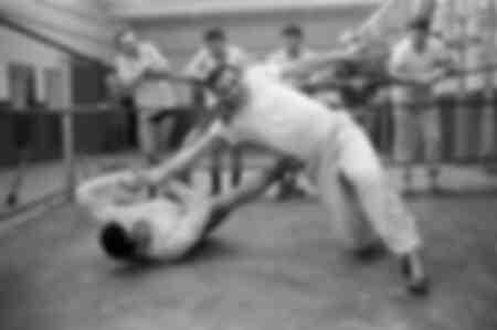 Lino Ventura sur le ring