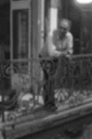 Michel Piccoli während der Dreharbeiten zum Film MADO