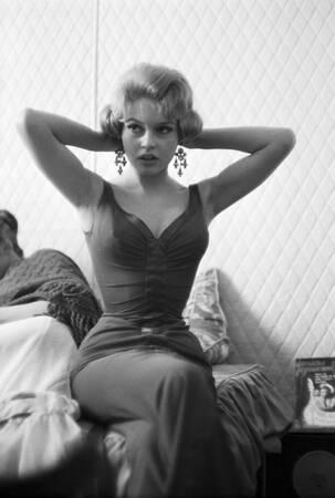 """Brigitte Bardot dans le film """"Une Parisienne"""""""