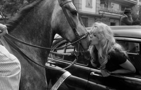 Brigitte Bardot en 1958 à Séville