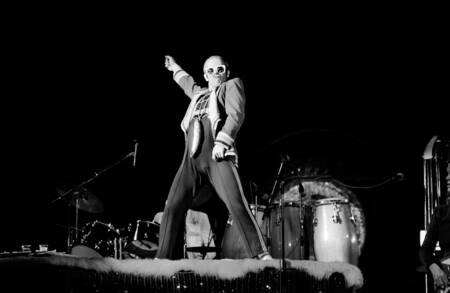 Concert d'Elton John à Londres
