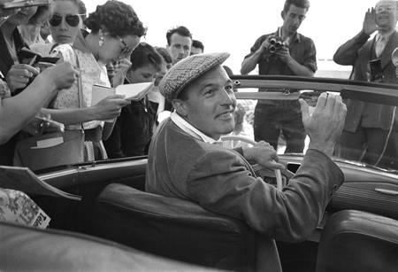 Gene Kelly au 8ème festival de Cannes