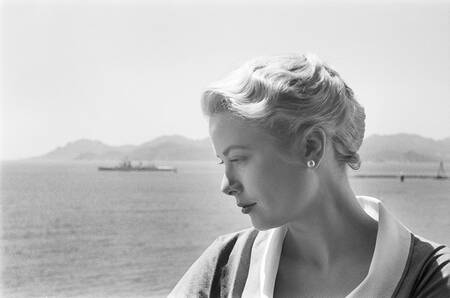 Grace Kelly au Festival de Cannes 1955