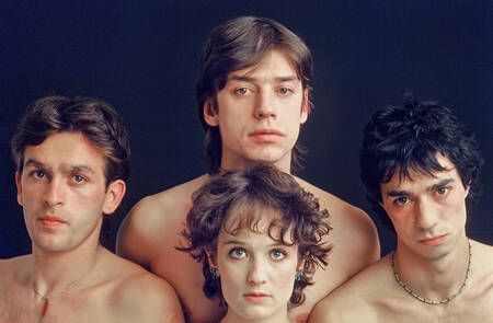 Groupe Téléphone en 1982