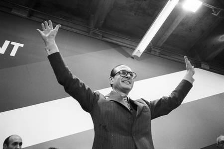 Jacques Chirac vient d'être élu président