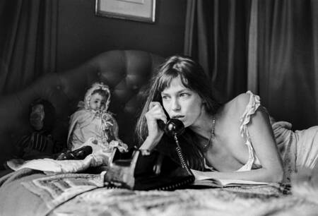 Jane Birkin in London