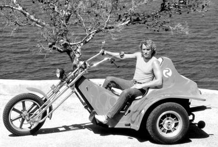 JOHNNY HALLYDAY A SAINT-TROPEZ