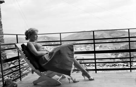 Le 10ème festival de cannes 1957 - ROMY SCHNEIDER