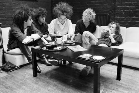 Le groupe new wave The Cure