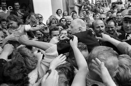 Le Président Charles de Gaulle en Bretagne en 1960