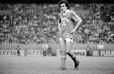 Michel Platini coupe de France 1982