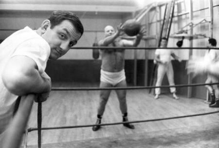 Lino Ventura champion d'Europe de lutte