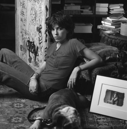 Lou Doillon chez sa mère Jane Birkin