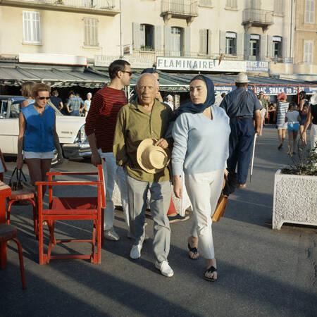 Pablo Picasso in Saint-Tropez